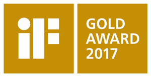 iF DESIGN GOLD AWARD 2017